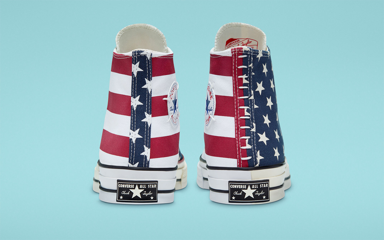 Converse Chuck 70 gives the Stars and
