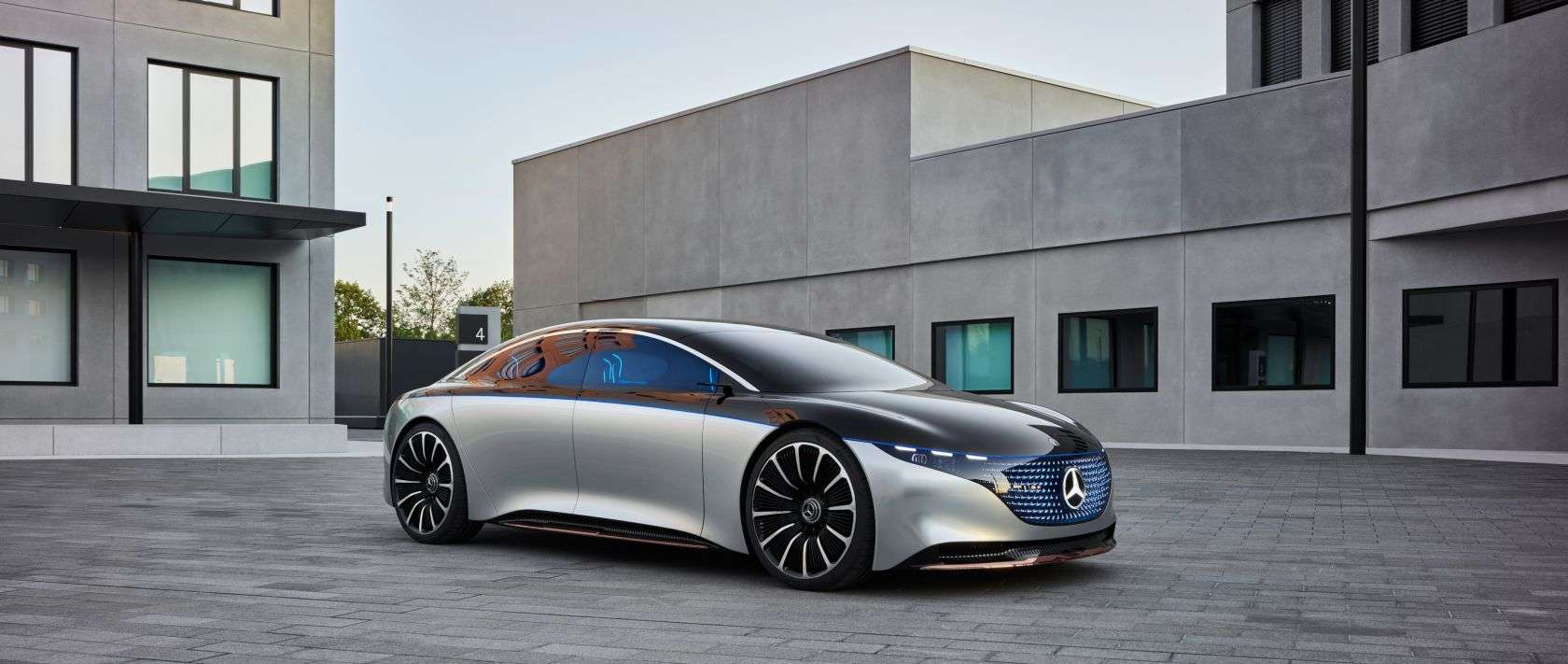 Mercedes-Benz EQS Concept: The Future of S-Class is ...