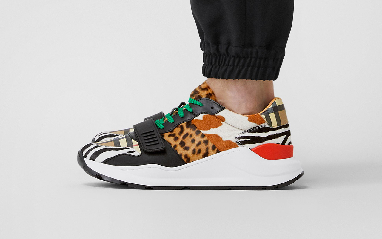 Burberry Brings Animal Print and
