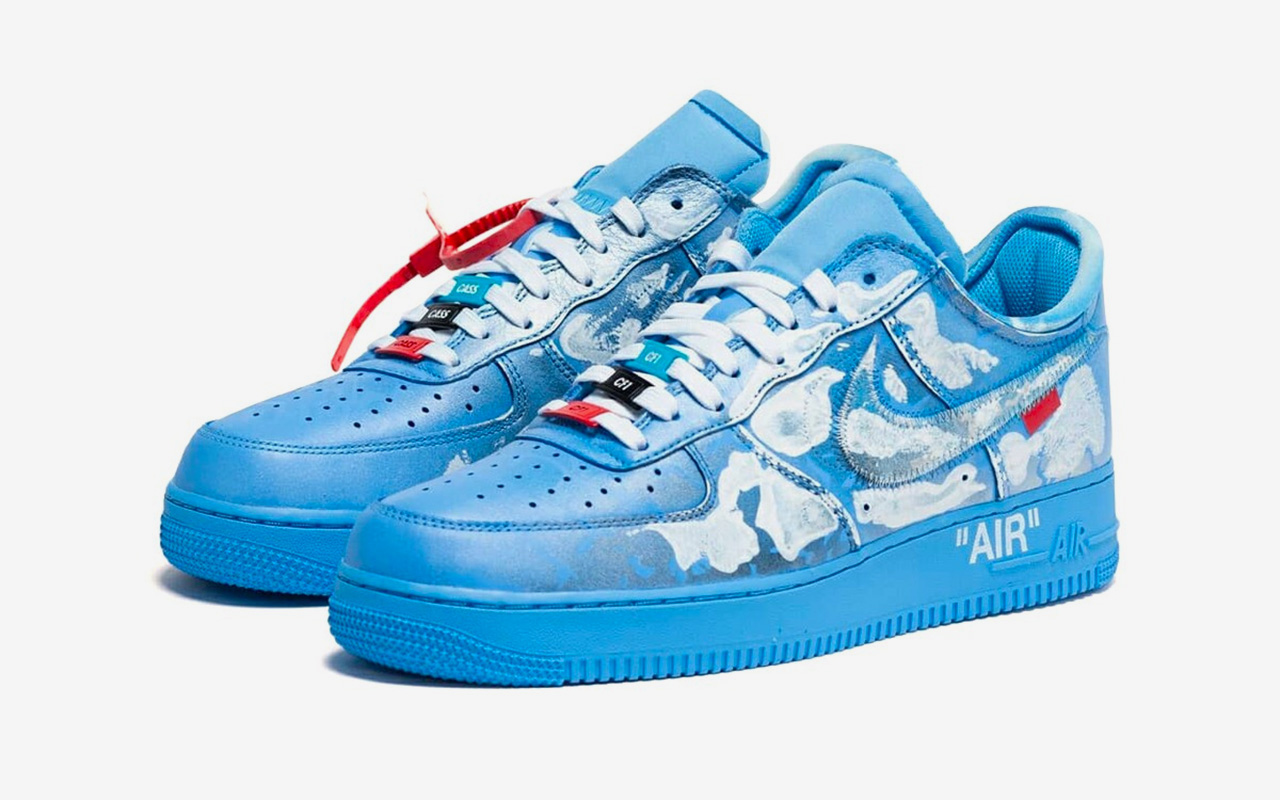 Nike Air Force 1 '07 Inked by Cassius Hirst for Virgil Abloh