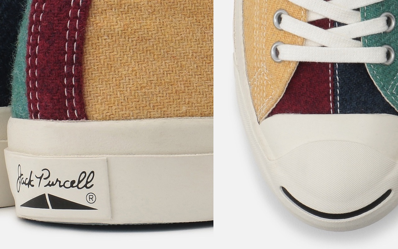 Converse Japan Jack Purcell Multi Wool RH launched dlmag