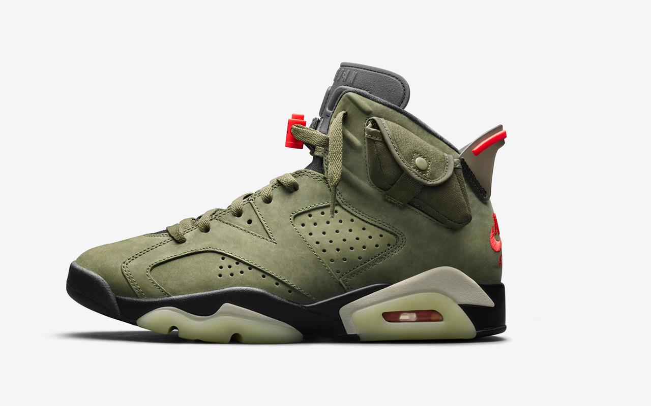 New Nike Jordan and Travis Scott