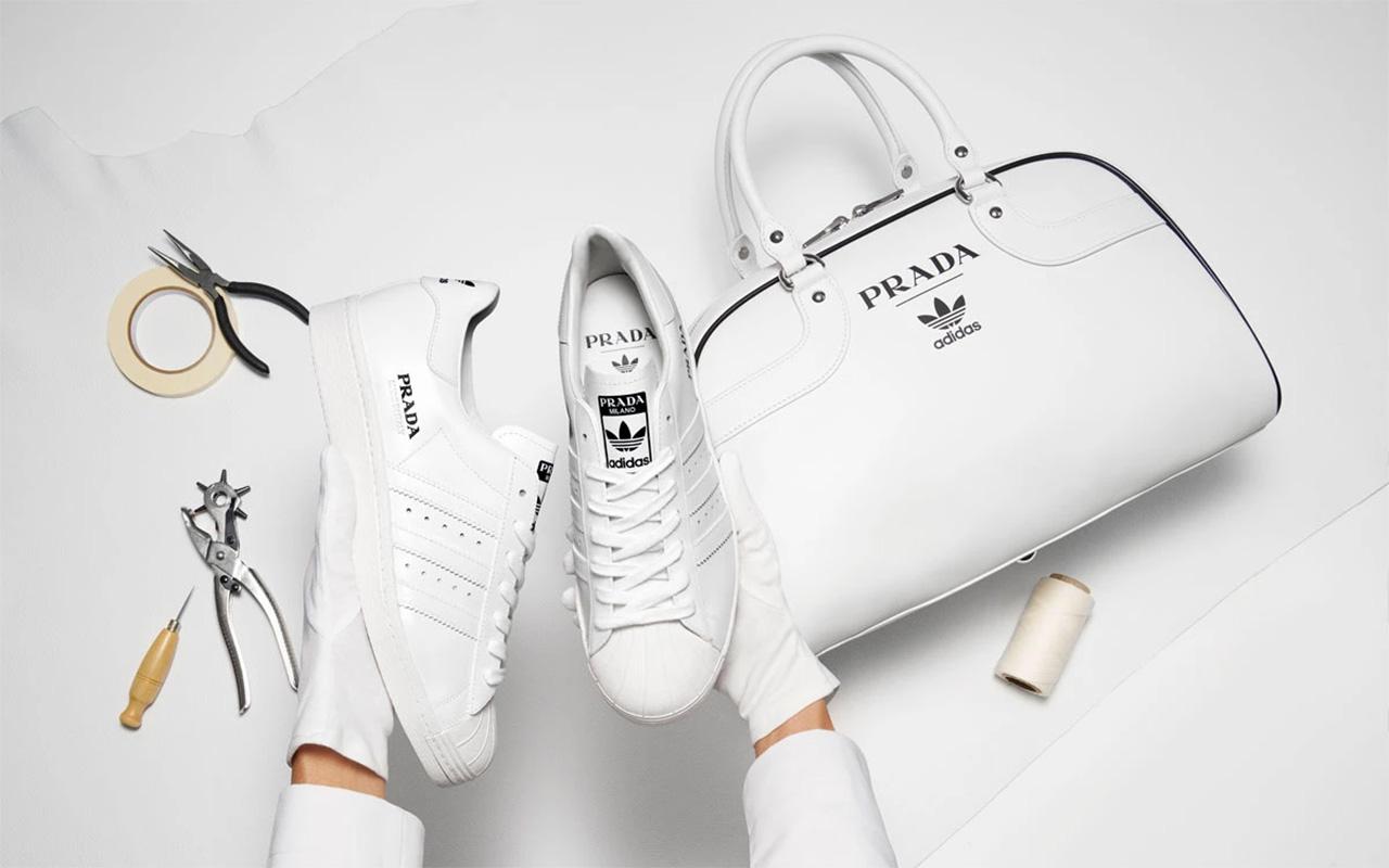 Prada X adidas Superstars Celebrate 50TH Year In Business