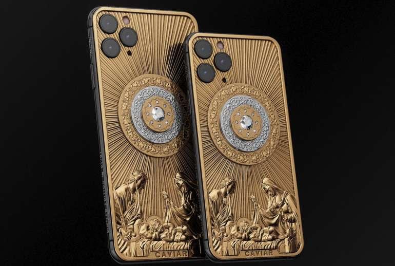 Caviar iPhone 11 Pro Diamond Christmas Star H