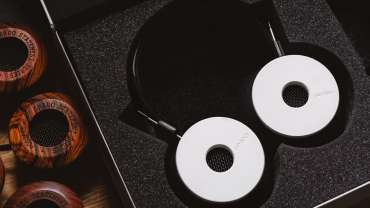 Hand Built Limited Grado Labs White Headphones