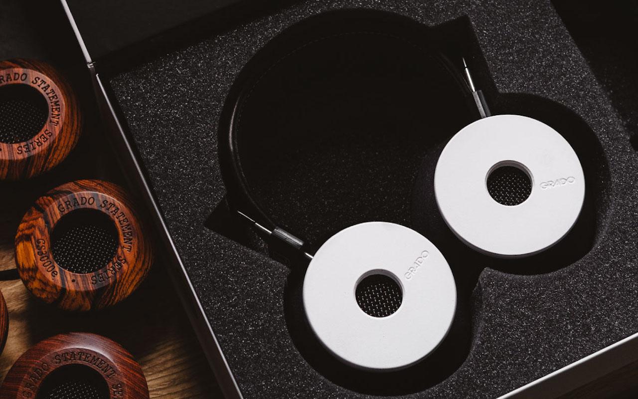 Hand Built Limited Grado Labs White Headphones
