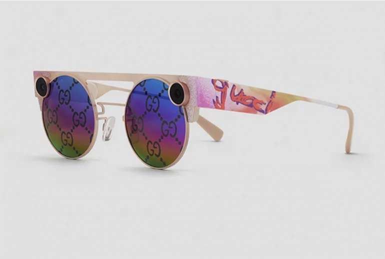 Snapchat x Gucci imited Edition AR Spectacles