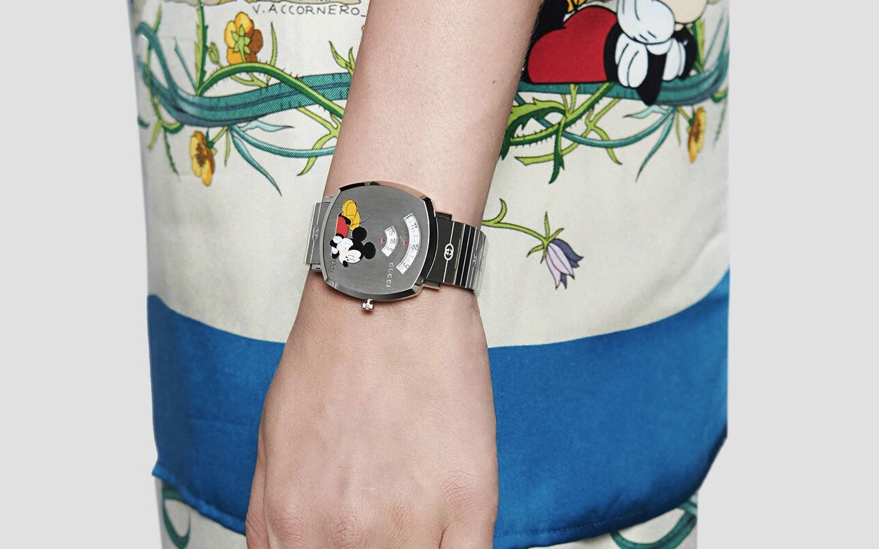 Disney, Gucci collab brings Mickey Mouse Grip watches , dlmag