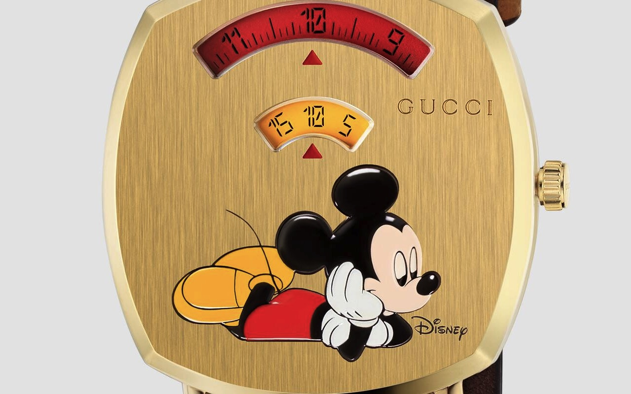 Gucci GG Disney Mickey Mouse Watch