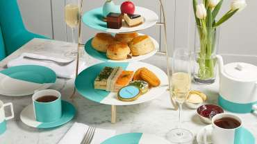Tiffany & Co Blue Box Cafe Harods London