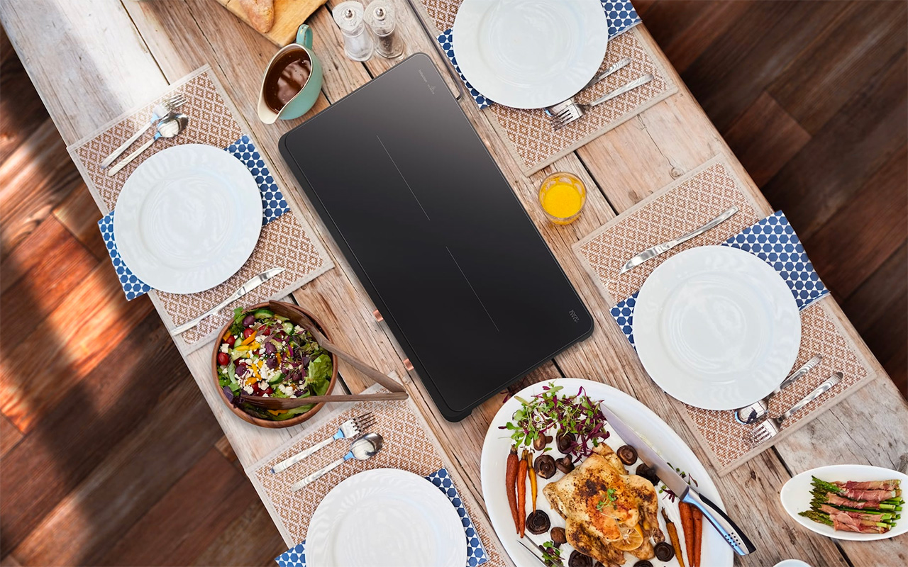 Samsung Portable Slim Double Induction
