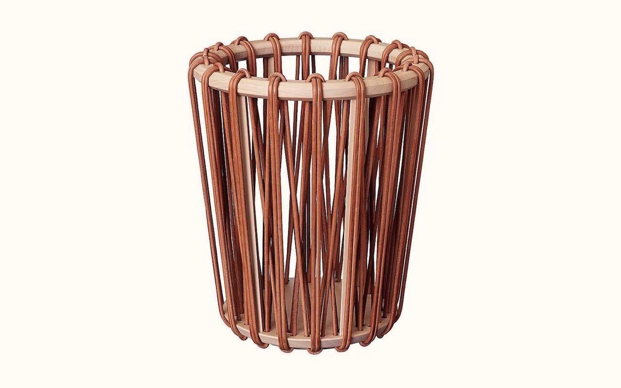 Hermes Waste Basket