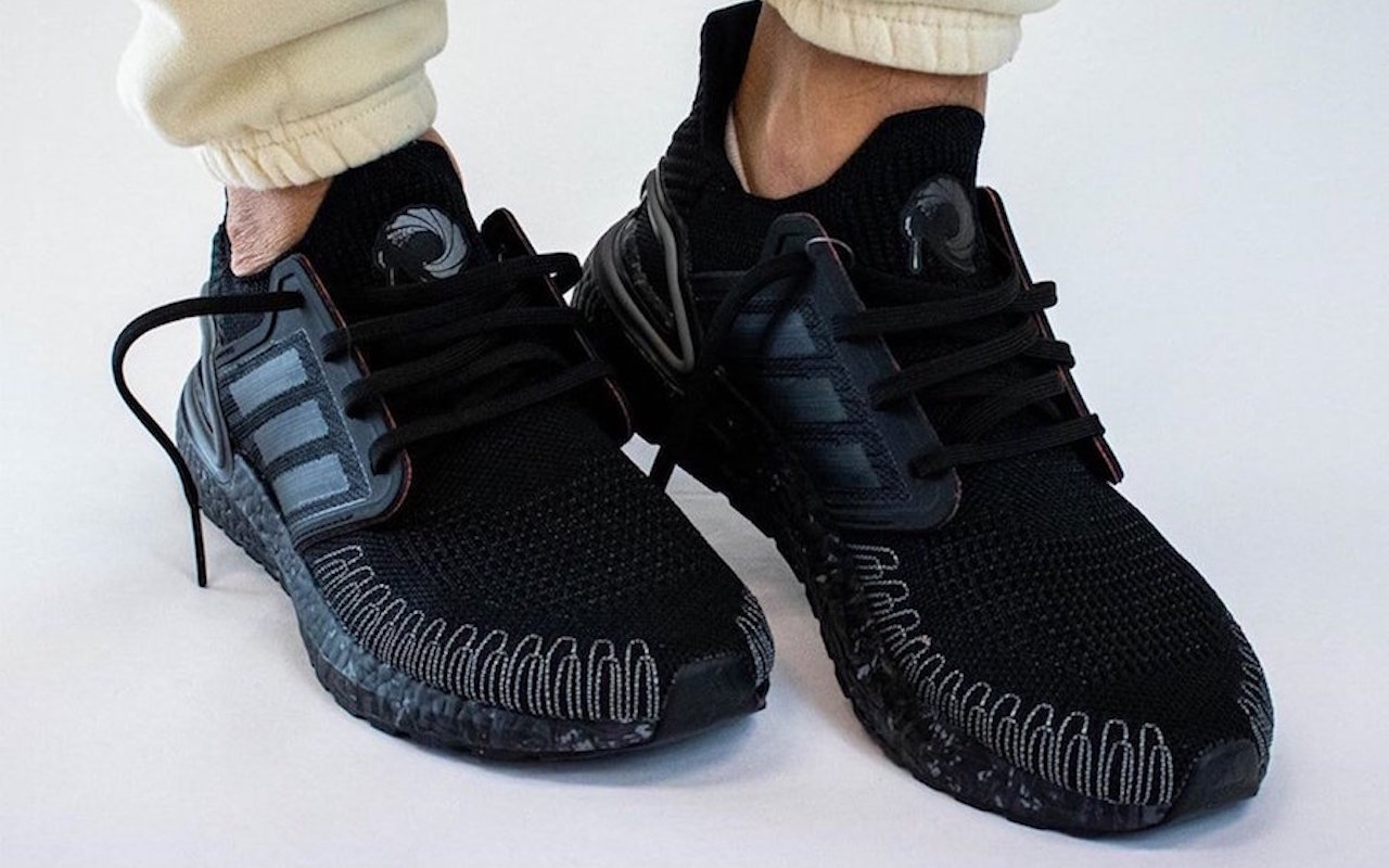 solo doce trapo  James Bond 007 Adidas Ultra Boost 2020 shown off - dlmag
