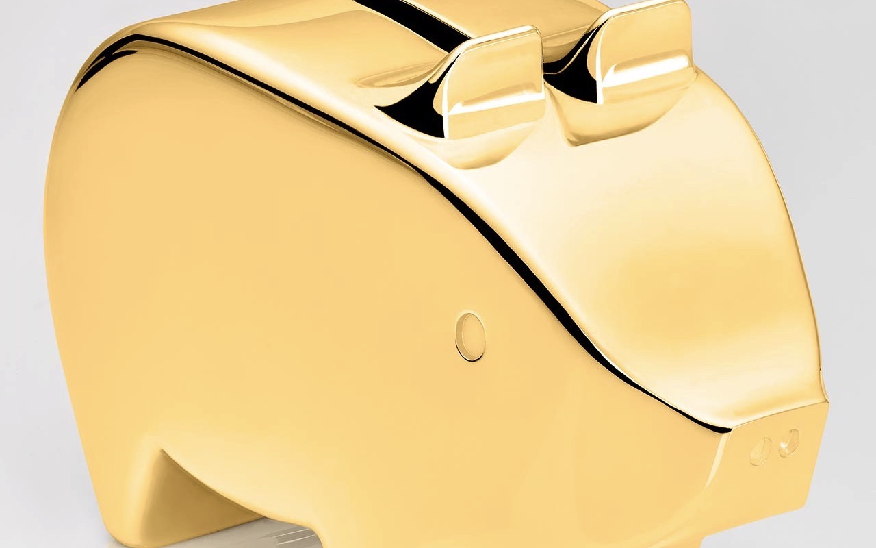 18ct Yellow Gold Minty Piggy Bank