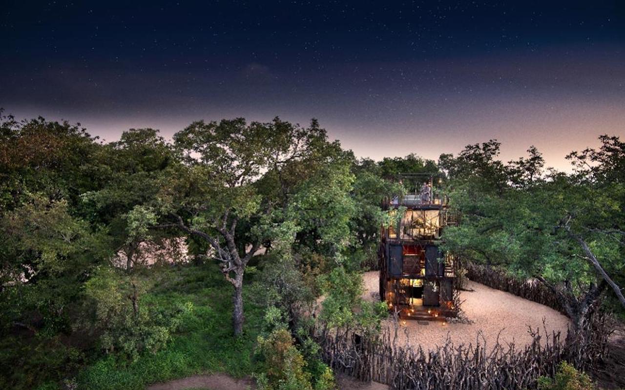 andBeyond Ngala Treehouse Design