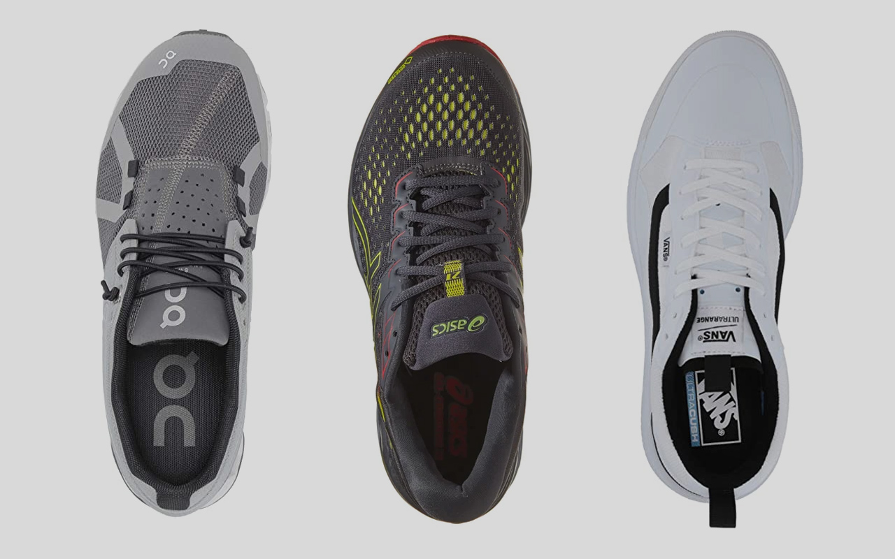 Three Indoor workout sneakers to
