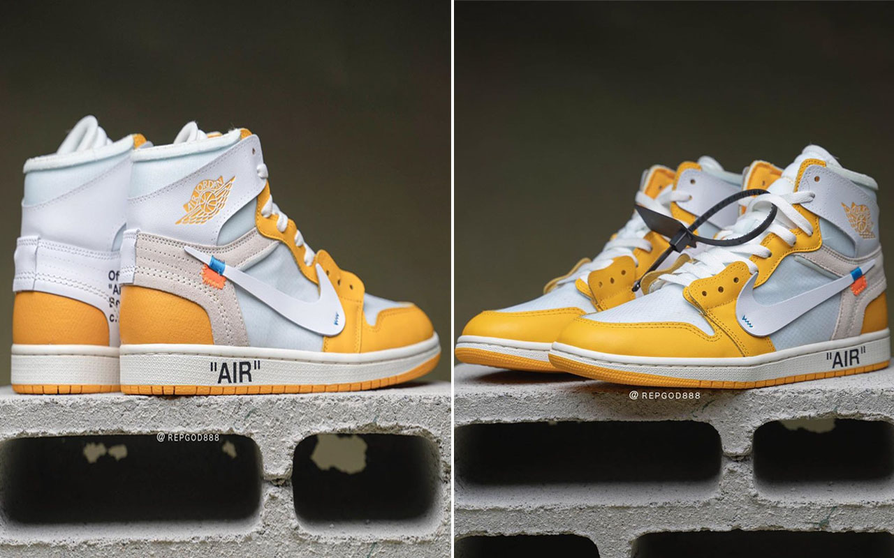 x Air Jordan 1 'Canary Yellow' could