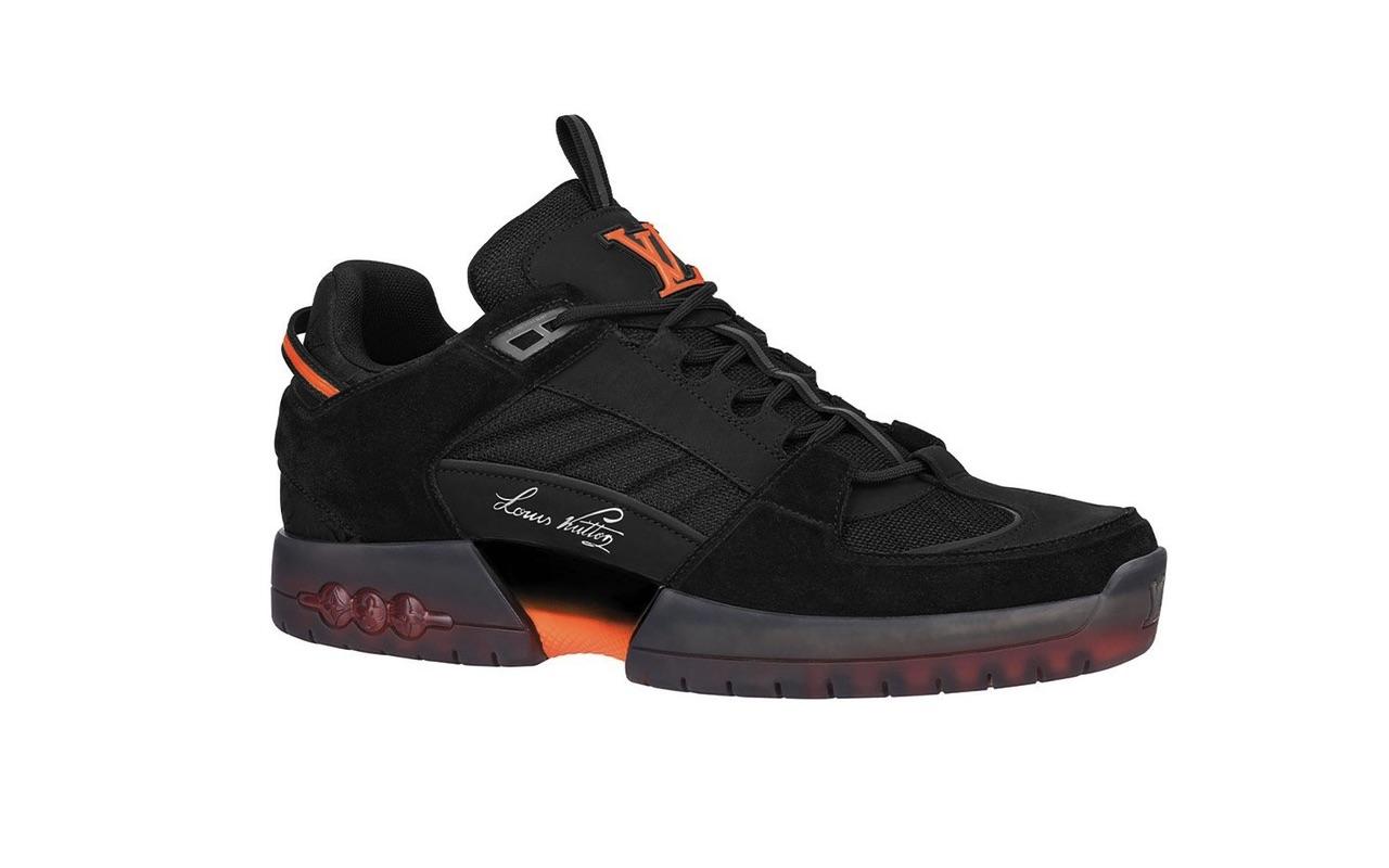 Lucien Clarke x Louis Vuitton A View Skate Sneaker