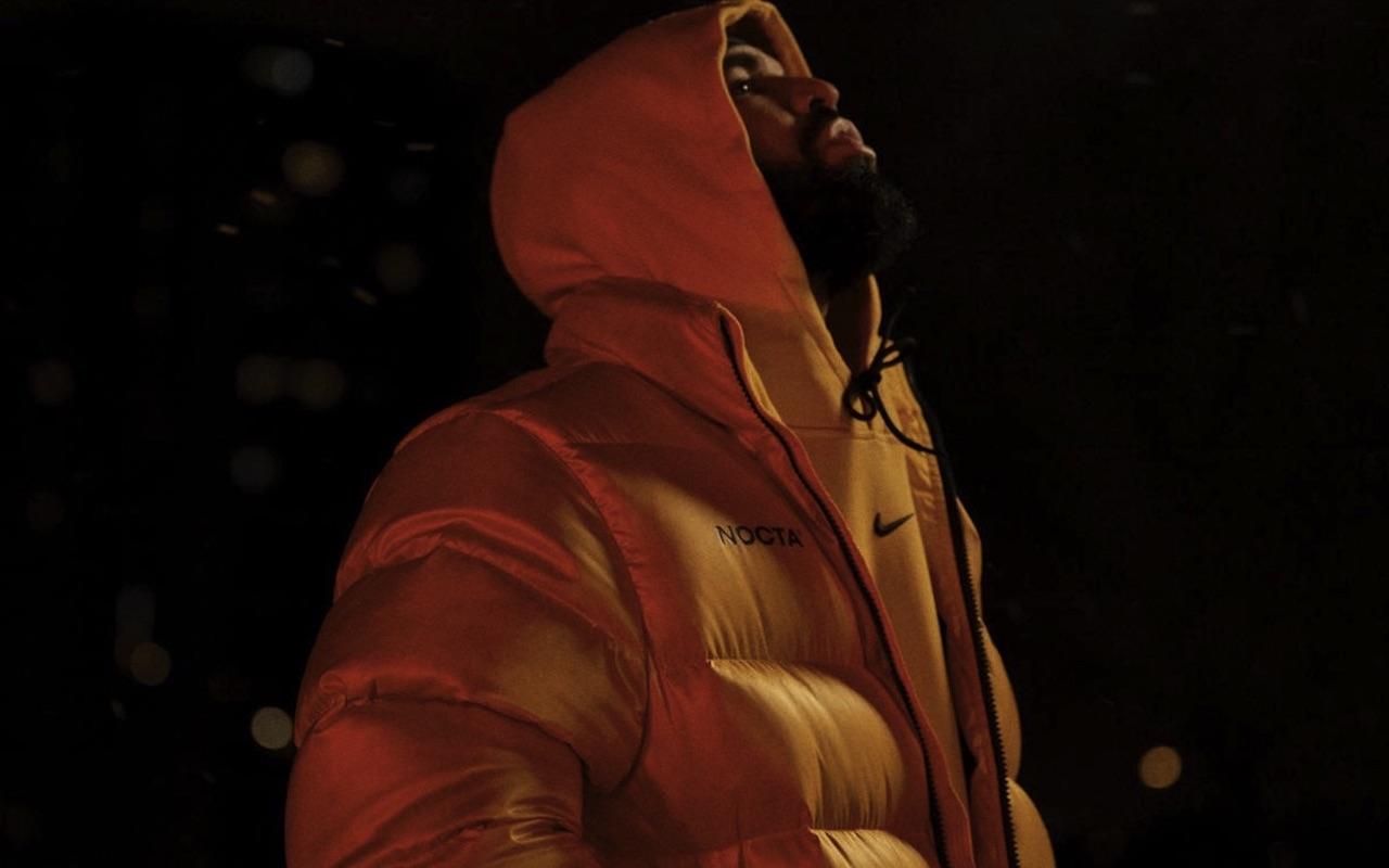 Nike Nocta Drake Yellow Black Jacket