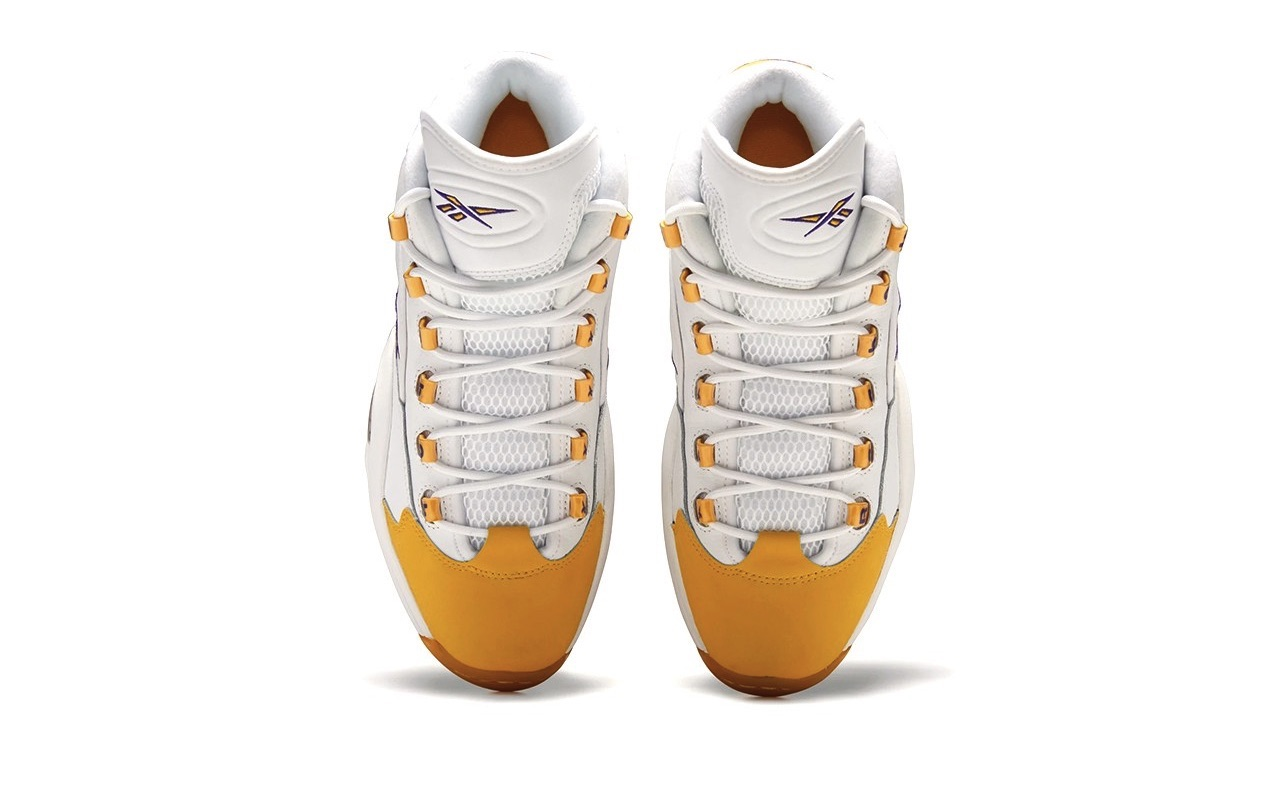 Reebok Question Mid Yellow Toe Where to Buy