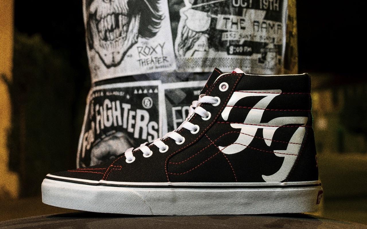 Foo Fighters Vans Sk8-Hi Sneakers