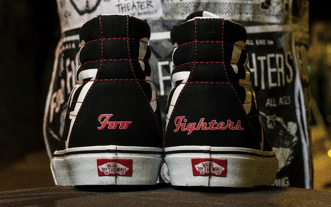 Foo Fighters Vans Sneakers 2021