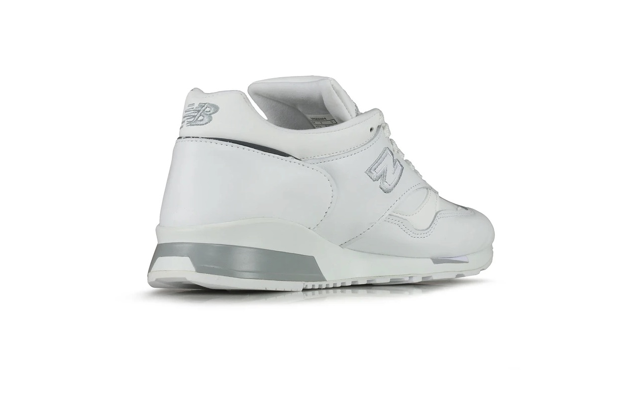 Made-In-UK New Balance 1500 White Silver Launch