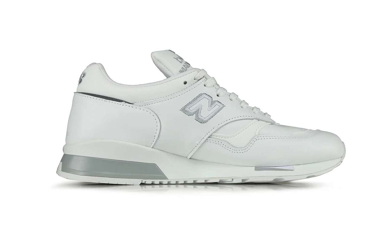Made-In-UK New Balance 1500 White Silver Where to Buy