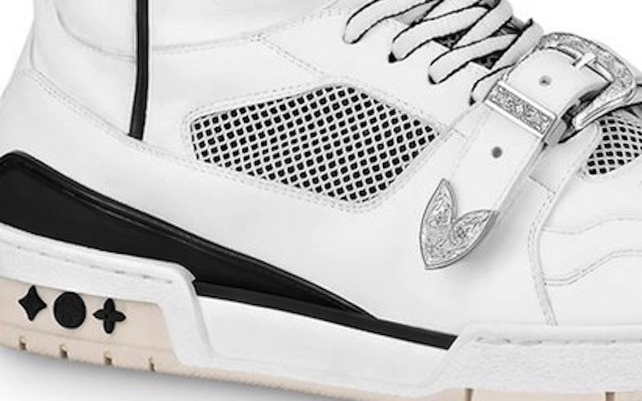 Virgil Abloh LV Trainer Sneaker Boot Launch