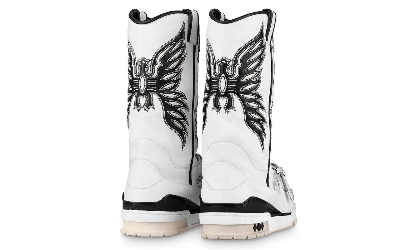 Virgil Abloh LV Trainer Sneaker Boot