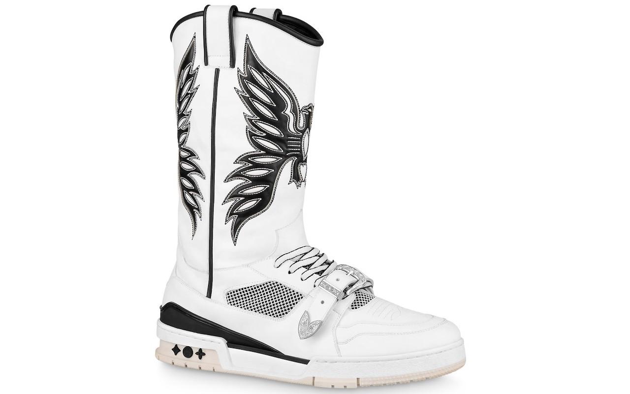 Virgil Abloh's LV Trainer Sneaker Boots
