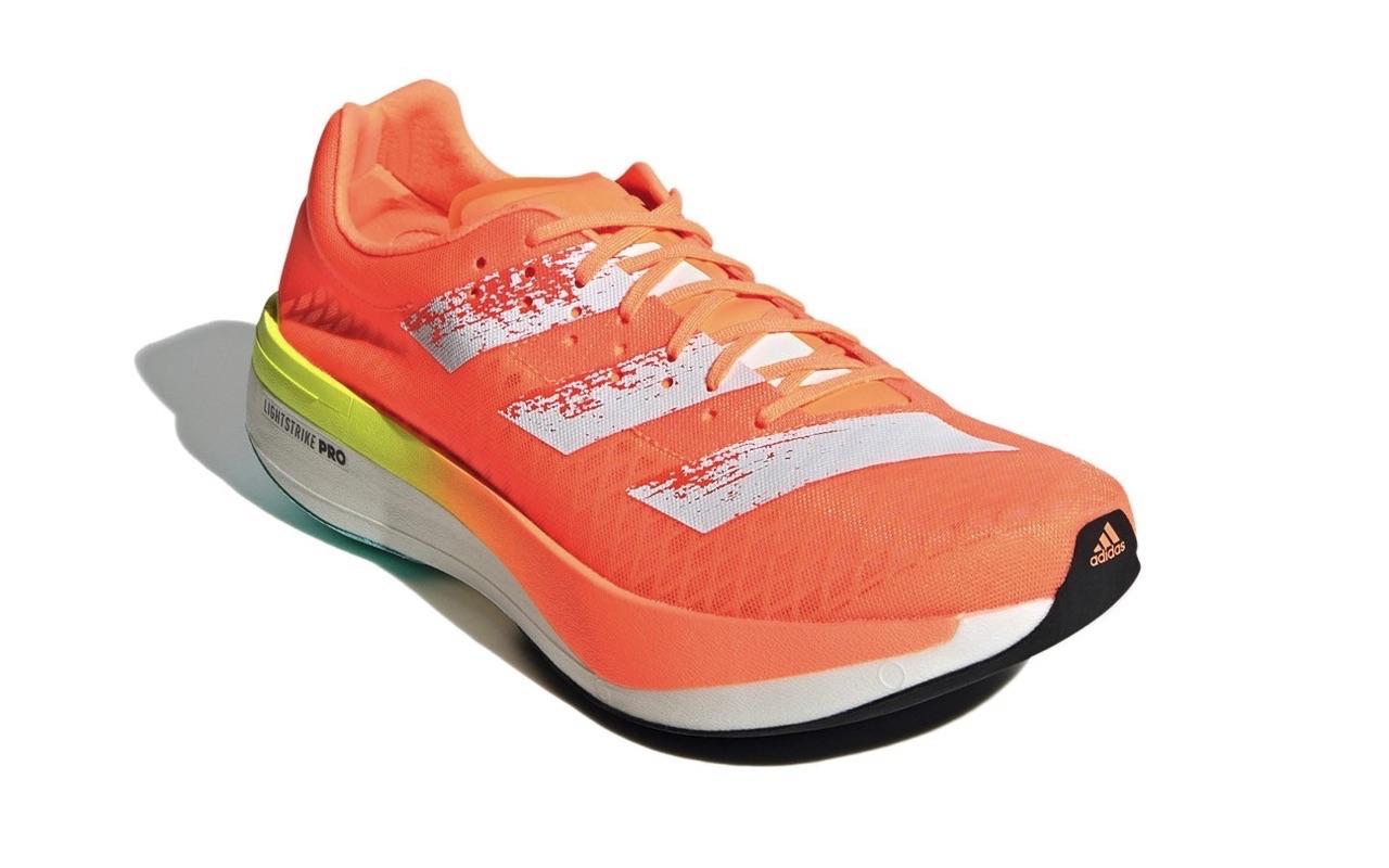 Adidas Adizero Adios Pro Screaming Orange Colorway