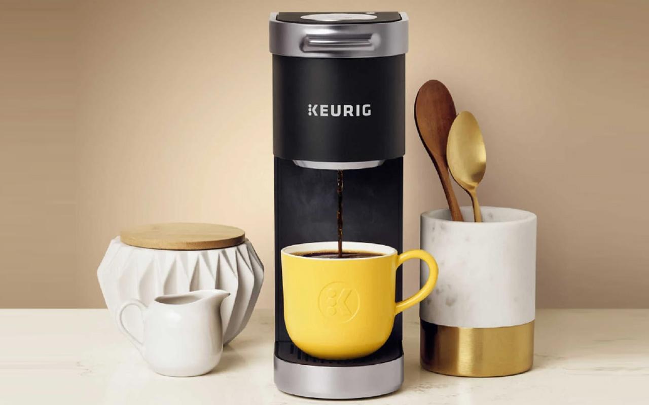 Keurig K-Mini Plus is the brand's slimmest coffee maker yet