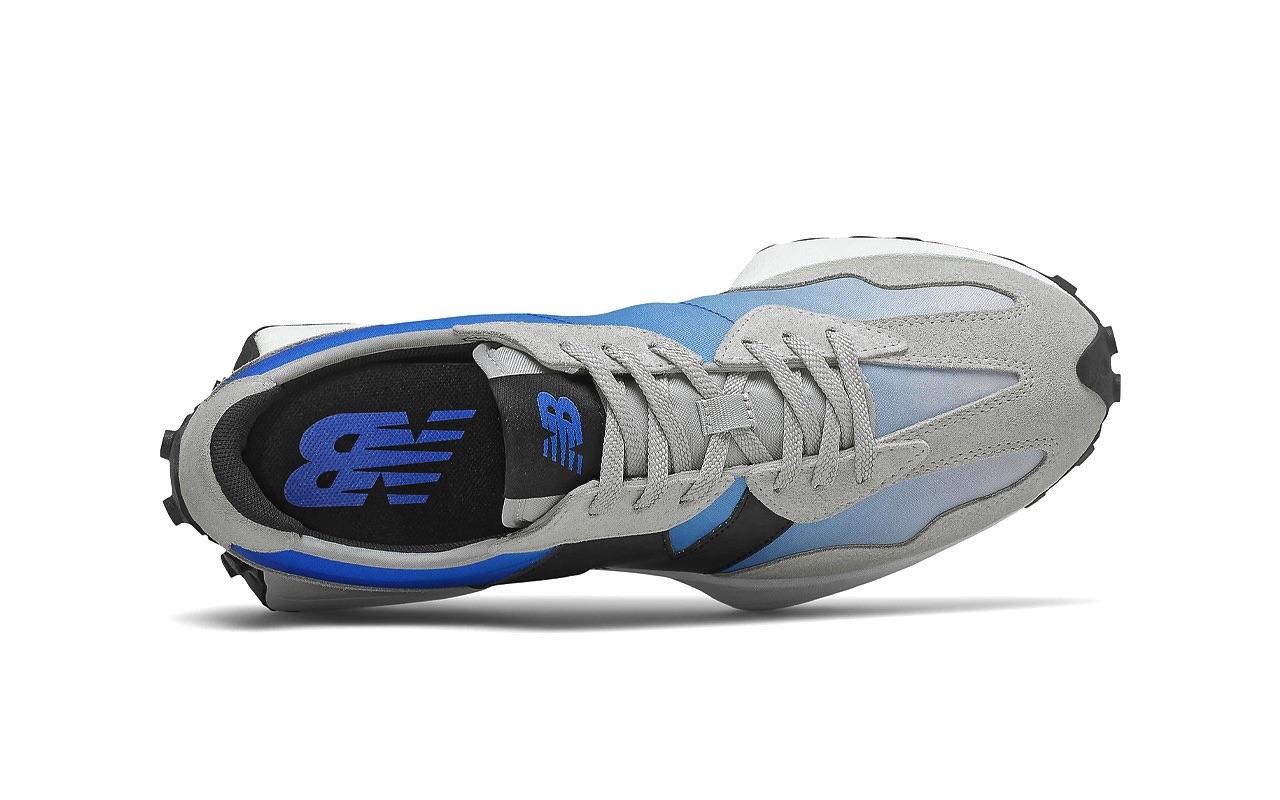 New Balance 327 Cobalt Blue