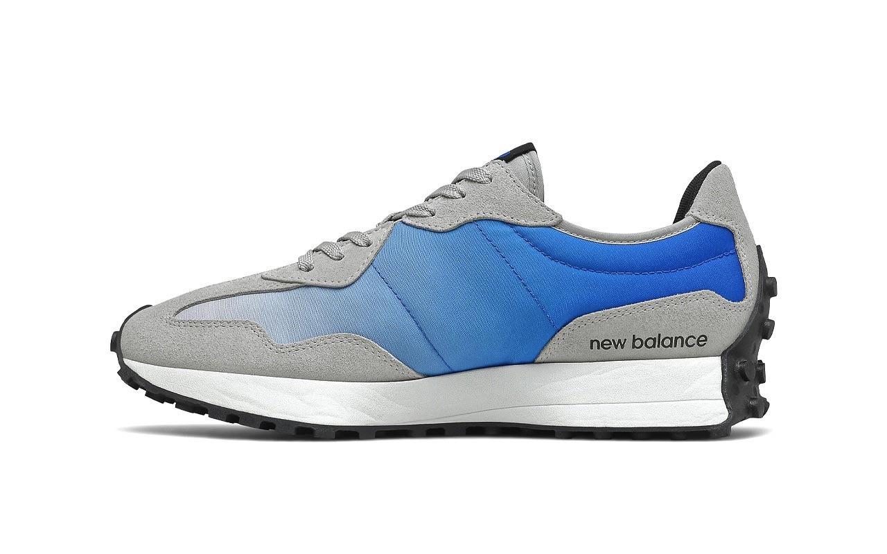 New Balance 327 Cobalt Blue 2