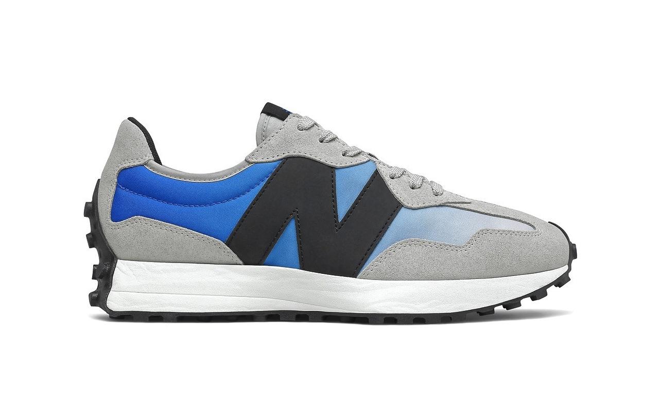 New Balance 327 Cobalt Blue 3