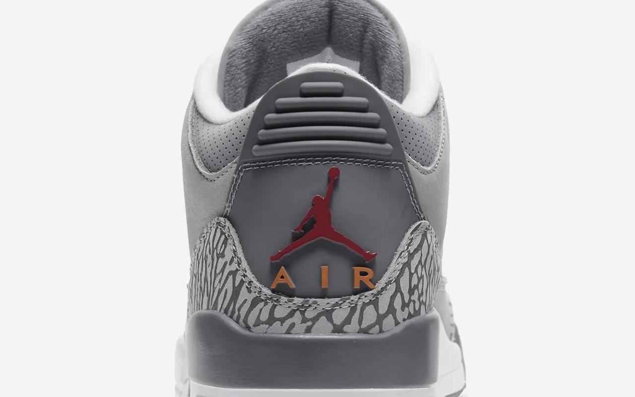 Nike Air Jordan 3 Cool Grey Colorway