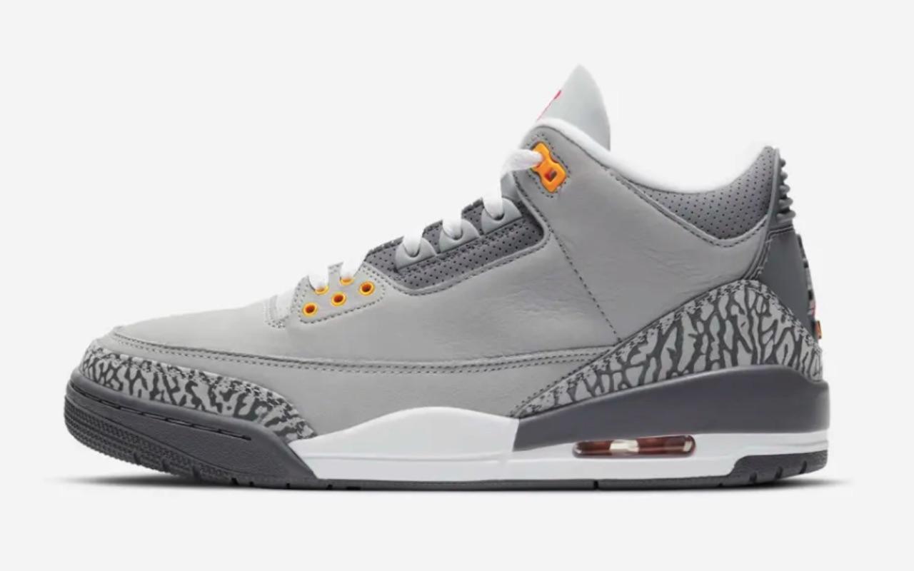 Nike Air Jordan 3 Cool Grey Launch