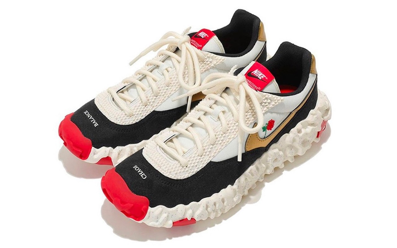 Nike OverBreak SP UNDERCOVER White-Black-Gold-Red
