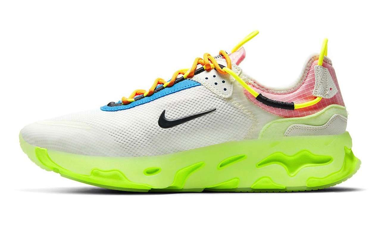 Nike React Live Barely Volt Colorway