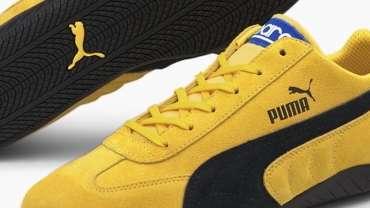PUMA Speedcat OG Sparco Maize-Puma Black Design