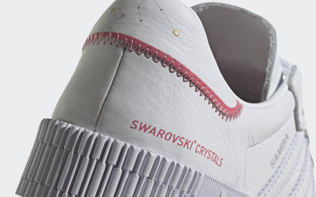 Sambarose Shoes with Swarovski Crystals 2