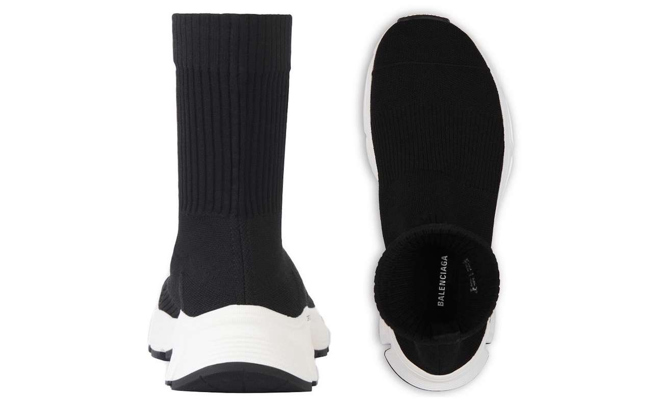 Balenciaga SPEED 3.0 Black Sneakers Images