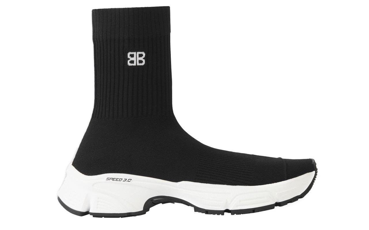 Balenciaga SPEED 3.0 Black Sneakers