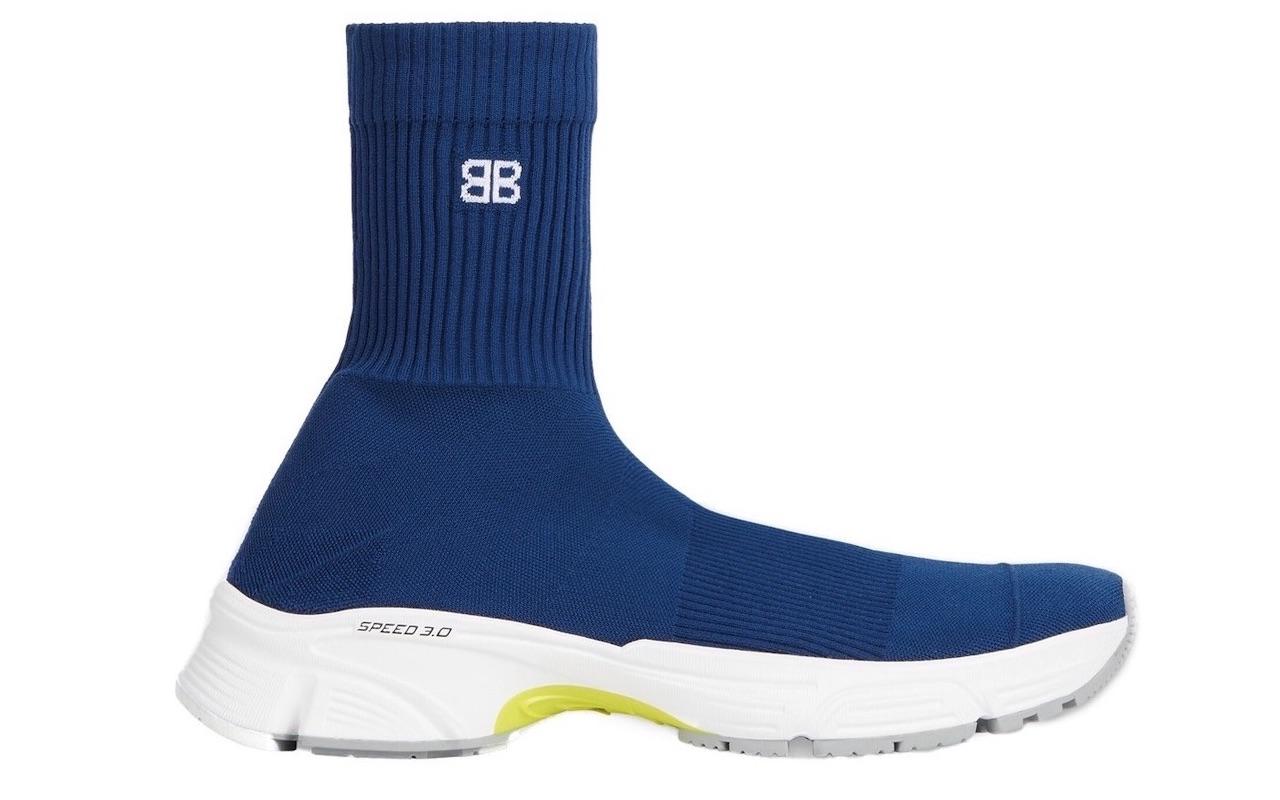 Balenciaga SPEED 3.0 Sneakers Blue