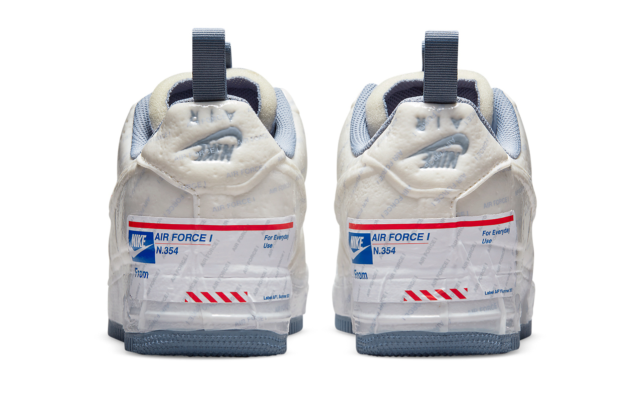 Nike Air Force 1 Experimental Is a USPS Priority Mail Box