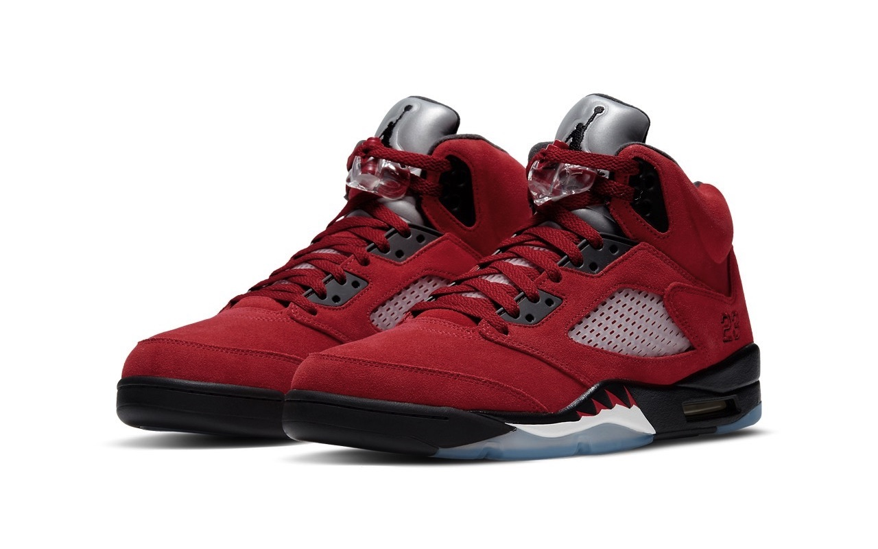 Nike Air Jordan 5 Raging Bull Launch