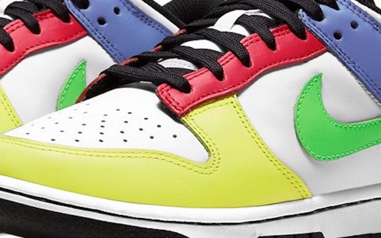 Nike Dunk Low Green Strike Design