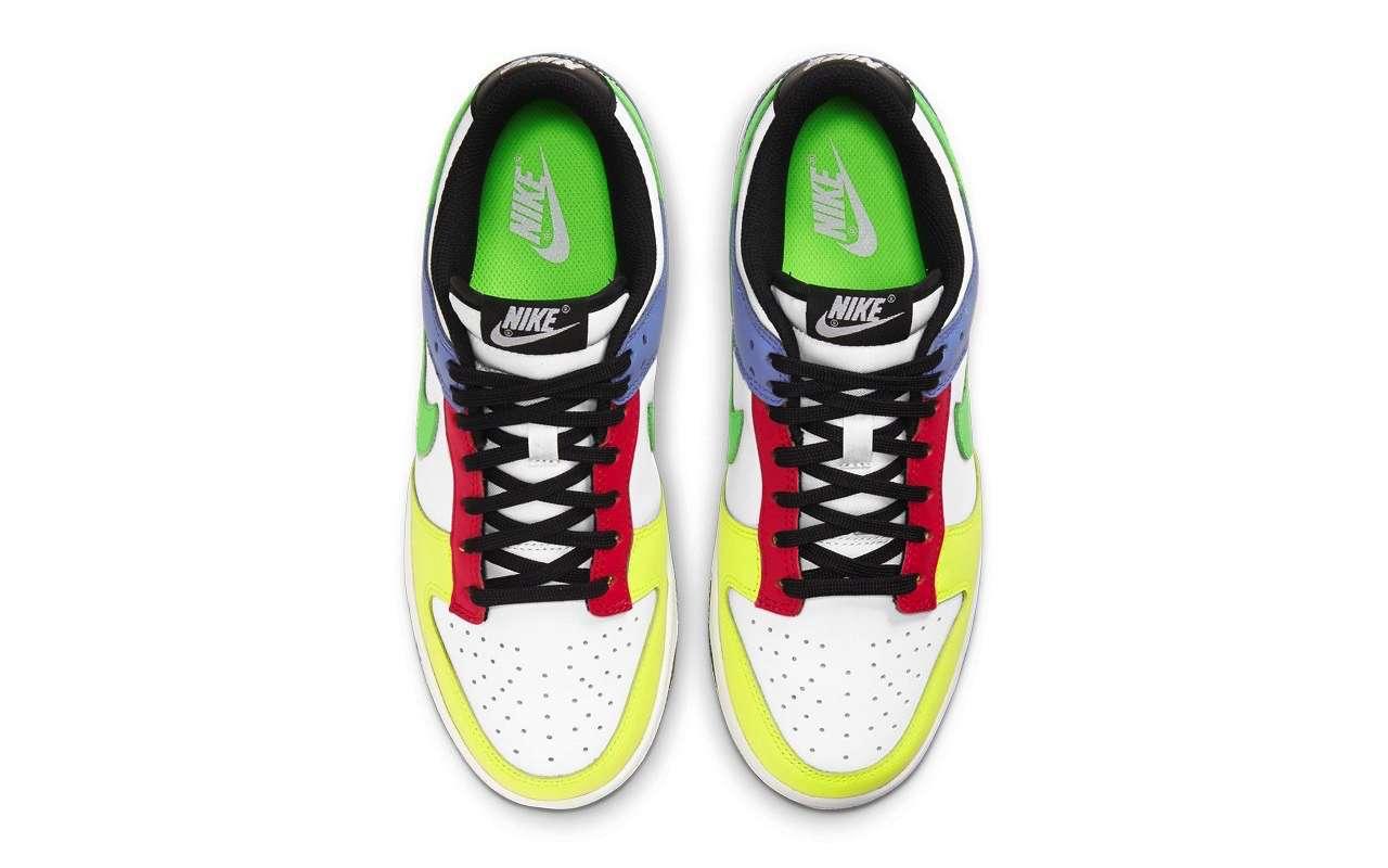 Nike Dunk Low Green Strike Women Colors