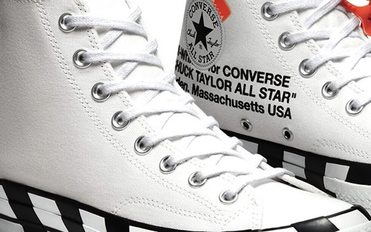 Off-White x Converse Chuck 70 Hi Virgil Abloh Design copy